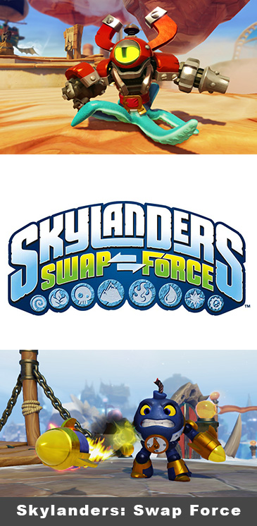 Activision Brings Skylanders To PS4 With Skylanders: Swap Force