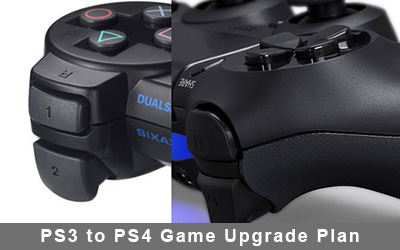 Sony Announces PS3 to PS4 Game Upgrade Plan