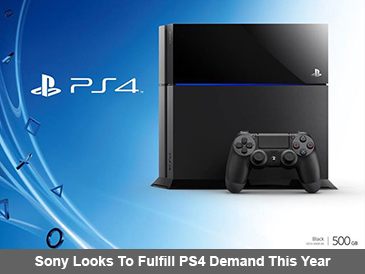 Sony Looks To Fulfill PlayStation 4 Demand This Year