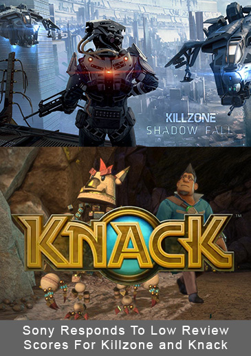 Sony Responds To Low Review Scores For Killzone and Knack