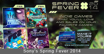 Sony's Spring Fever 2014 Brings PS4 Indie Discounts
