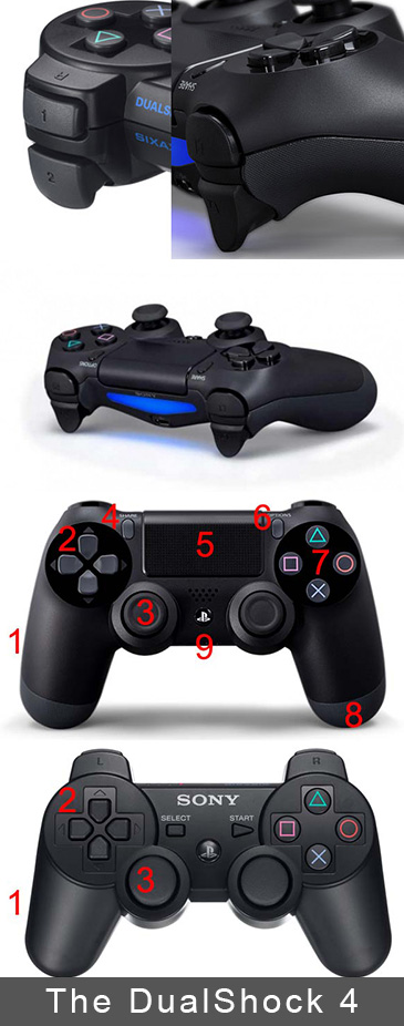 The PS4 DualShock 4