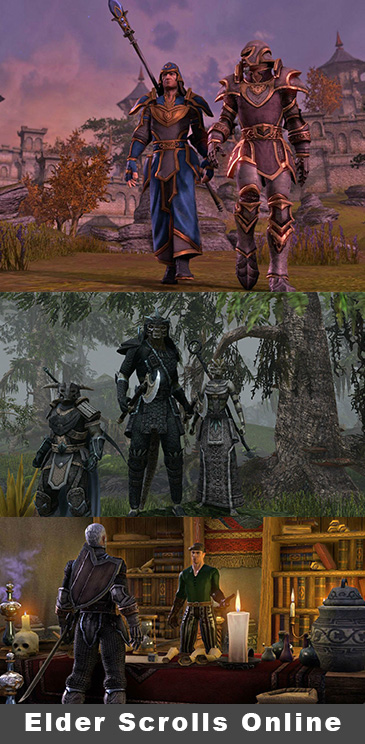 Elder Scrolls Online Brings MMO Action To PlayStation 4