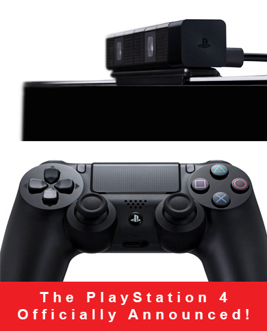 PlayStation 4 Announced!