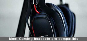 Most Gaming headsets are currently compatible with PS4