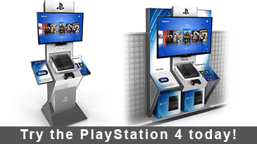 Try the PlayStation 4 today!