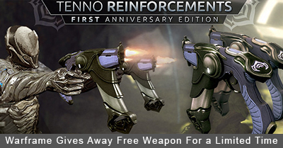 Warframe Free Weapon