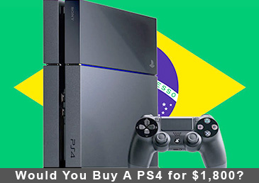 Would You Buy A PS4 for $1,800?