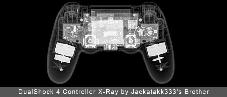 DualShock 4 Controller X-Ray